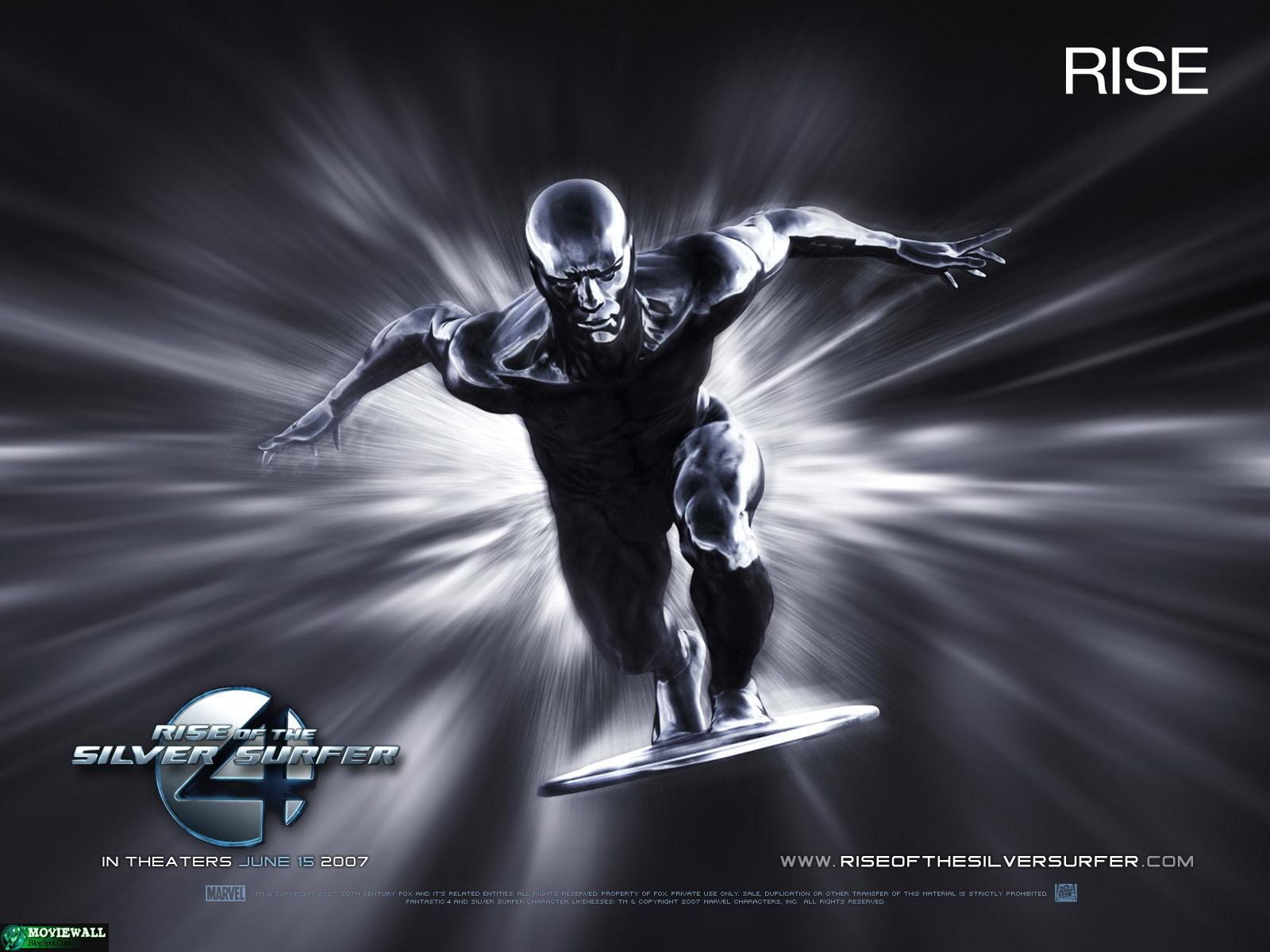 Marvel comics silver surfer
