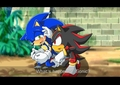Sonic crying - sonadow photo