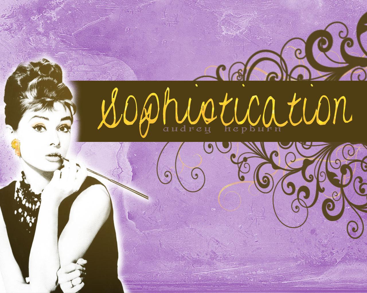 Audrey Hepburn Images Sophisticated Audrey Hd Wallpaper
