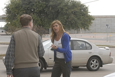 Friday Night Lights wallpaper probably with a minivan and a street titled Tami