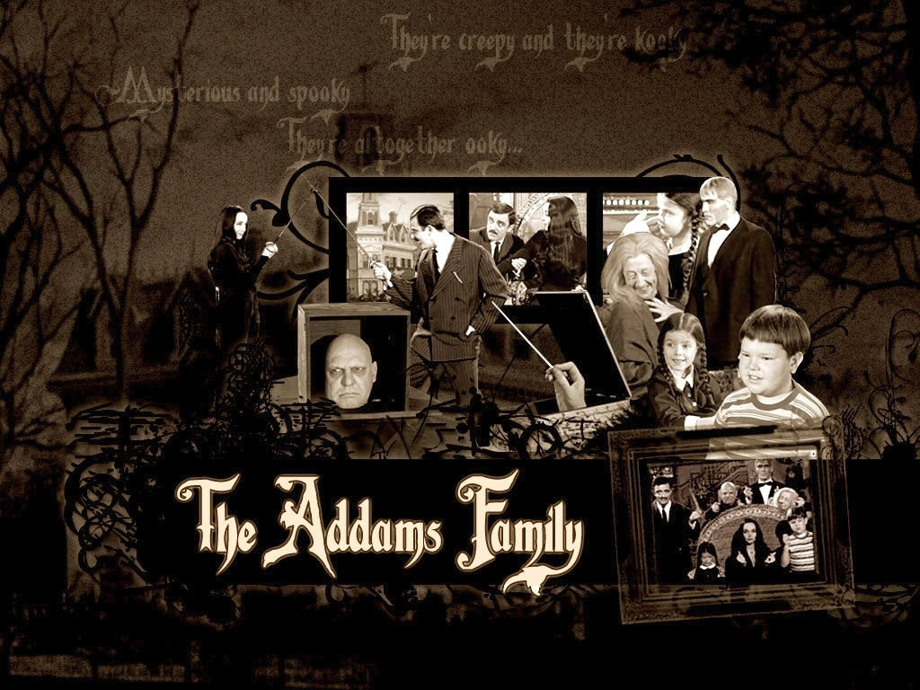 The Addams Family پیپر وال