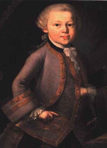 Wolfgang Amadeus Mozart portraits