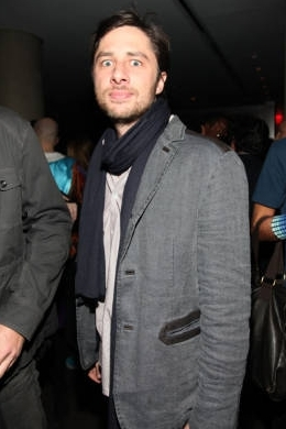 Zach at the Nylon magazine party, 31st March 2009