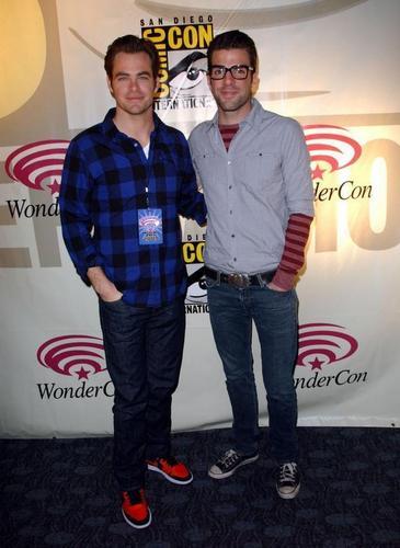 Zachary Quinto & Chris Pine