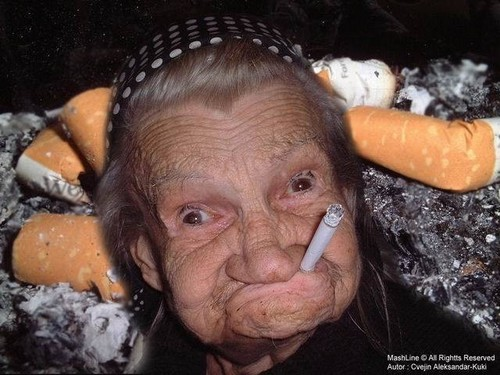 a funny grandma