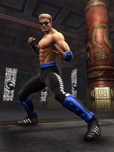 Mortal Kombat fond d'écran called johnny cage