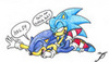 sonic ad cyan tickle attack
