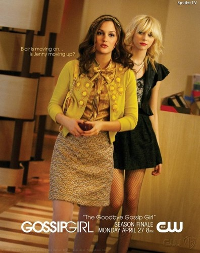 """The Goodbye Gossip Girl"" Promotional Poster"