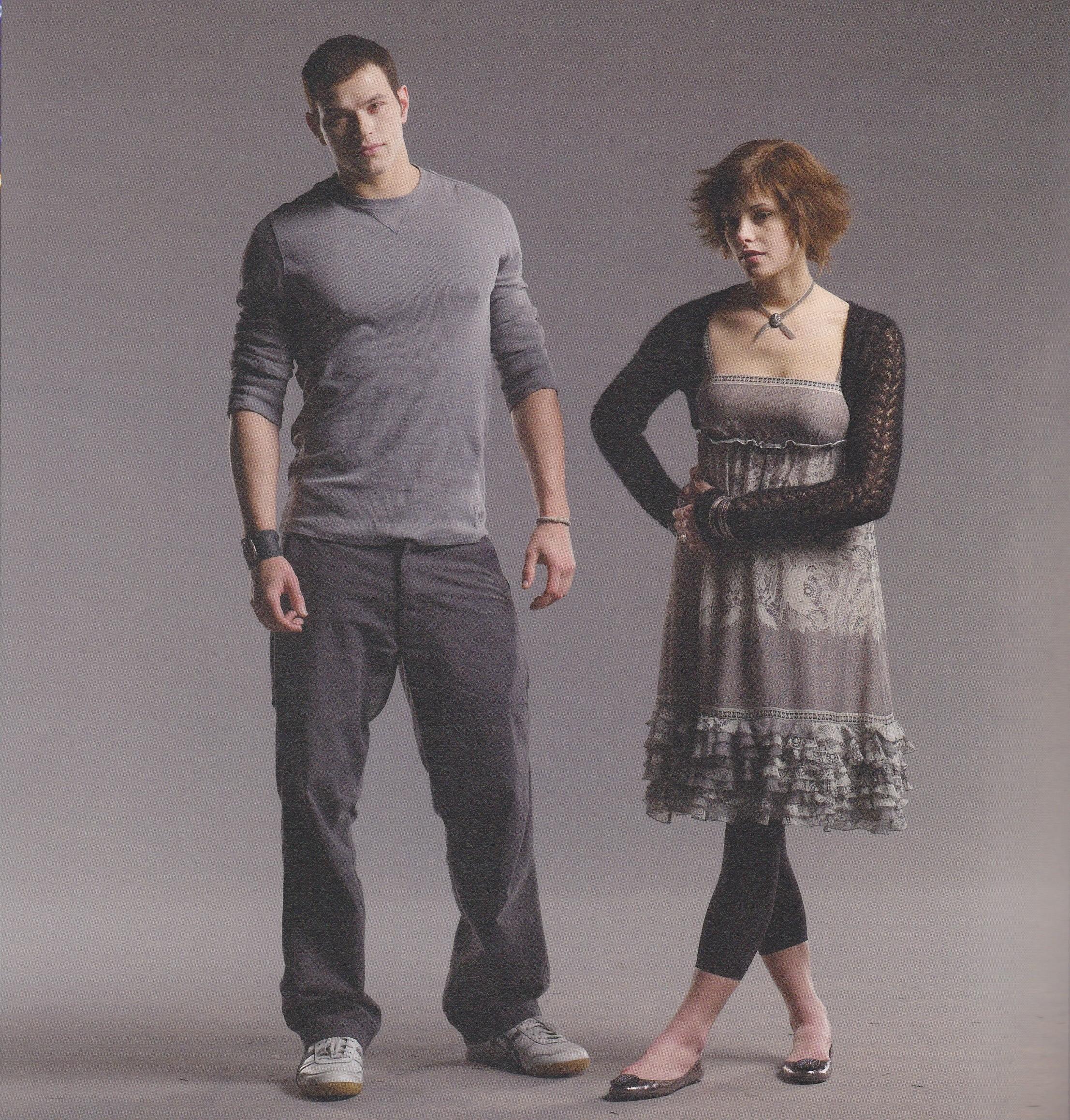Alice and Emmett Cullen