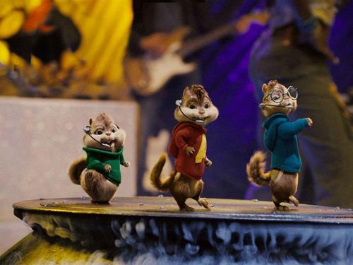 Alvin and the Chipmunks 壁纸