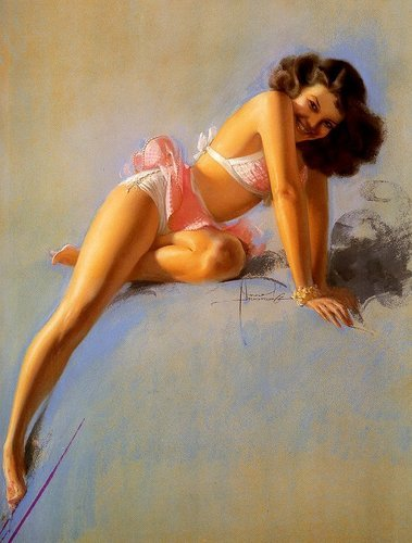 Armstrong Pin-up