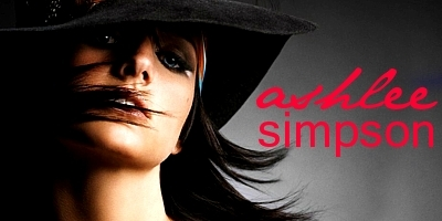 Ashlee Simpson wallpaper probably containing a fedora and a boater titled Ashlee