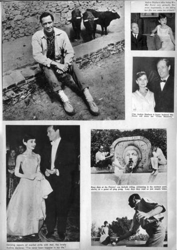 Audrey and Mel Scrapbook