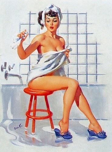 Pin Up Girls wallpaper with skin titled Ballantyne Pin-Up