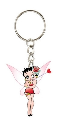 Betty Boop Keychain