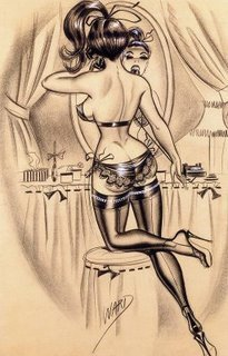 Bill Ward Pin-Up - pin-up-girls Photo