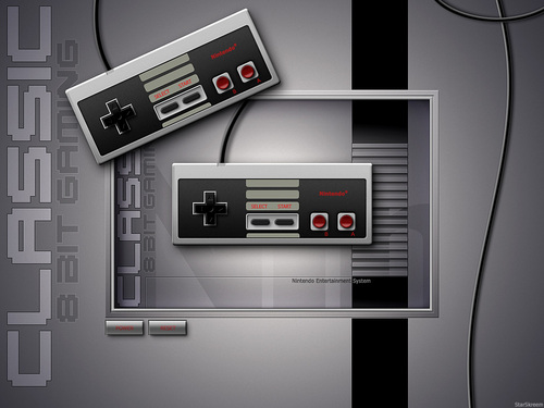 Nintendo wallpaper titled Classic NES Controller