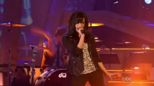 Demi on Dancing With The Stars - 4/7/09