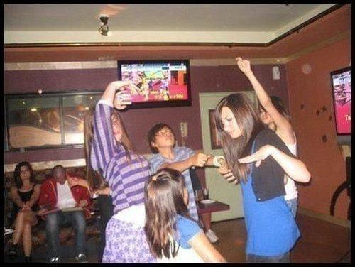 Demi's Myspace pics