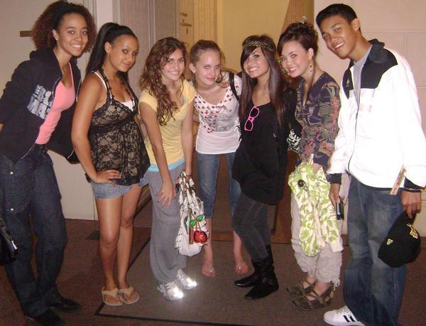 Demi's Myspace photos