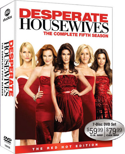Desperate Housewives Season 5 DVD Box Set