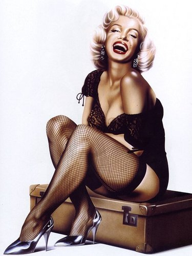 Pin Up Girls wallpaper titled Diez does Marilyn Monroe