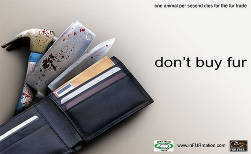 Don't buy fur