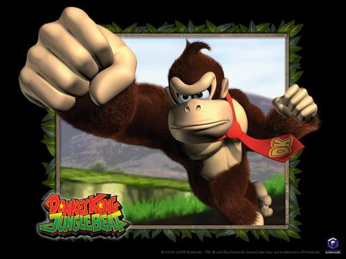 Nintendo wallpaper called Donkey Kong rocks!