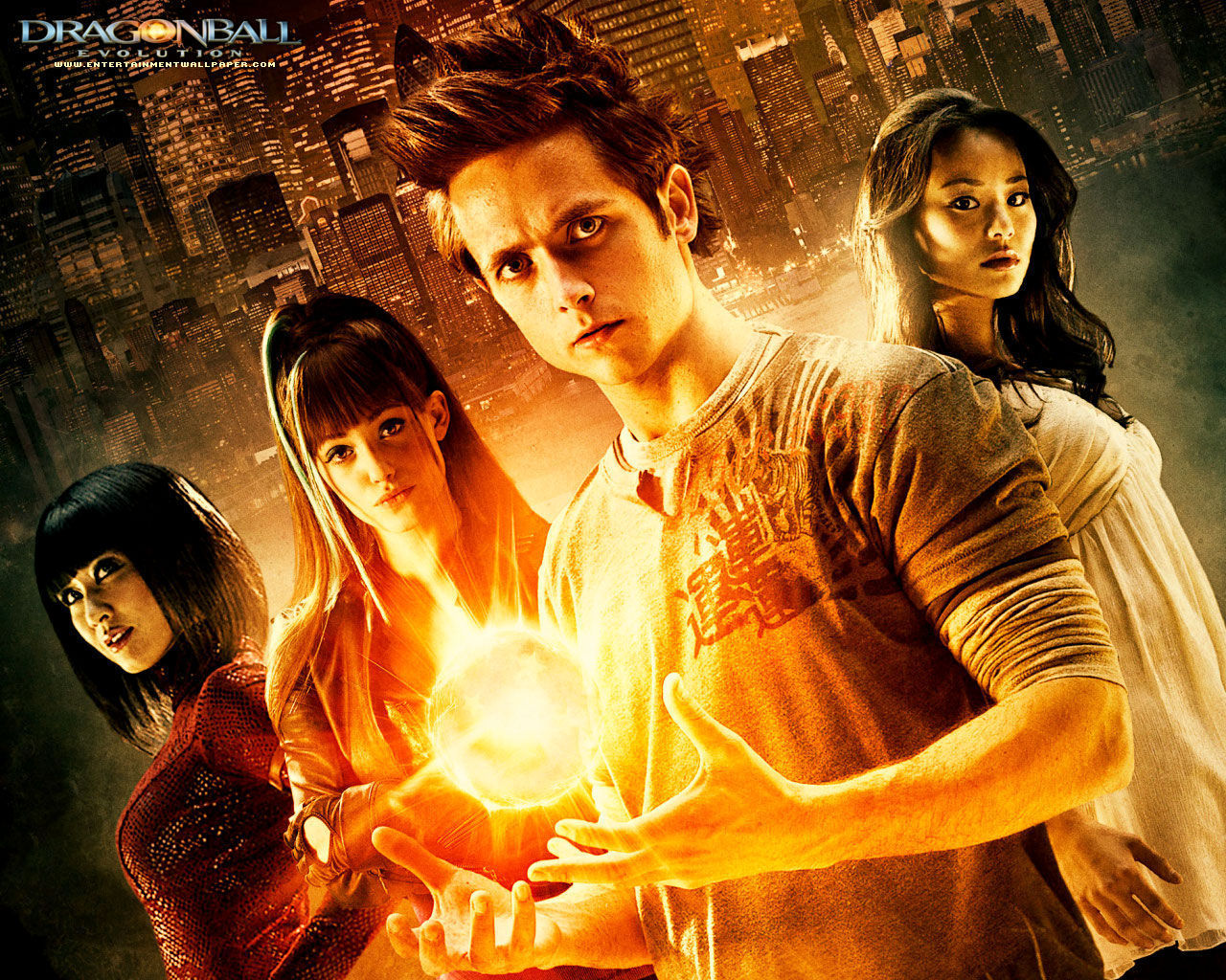 Dragonball Evolution movies in Australia