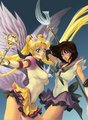 Eternal Sailor Moon & Sailor Saturn