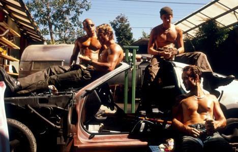 Dom, Brian, Jesse & Leon
