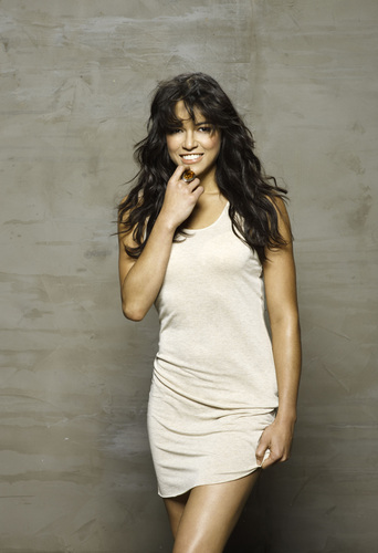 Michelle Rodriguez fond d'écran probably with a cocktail dress and a chemise entitled Fast & Furious Photoshoot