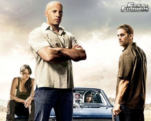 Paul Walker wallpaper containing an automobile entitled Fast & Furious