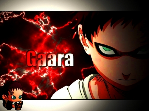 Gaara of Suna wallpaper containing anime entitled Gaara