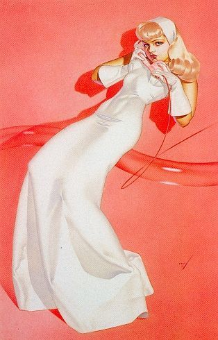 George Petty Pin - Up