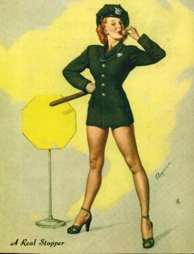 Pin Up Girls wallpaper probably with tights and a hip boot titled Gil Elvgren Pin-Up