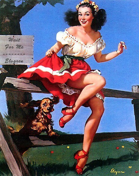 Gil Elvgren Pin-Up