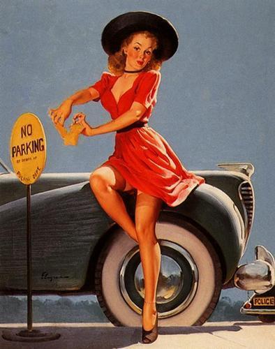 Pin Up Girls wallpaper entitled Gil Elvgren Pin-Up