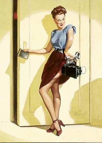 Gil Elvgren Pin-Up - pin-up-girls Photo