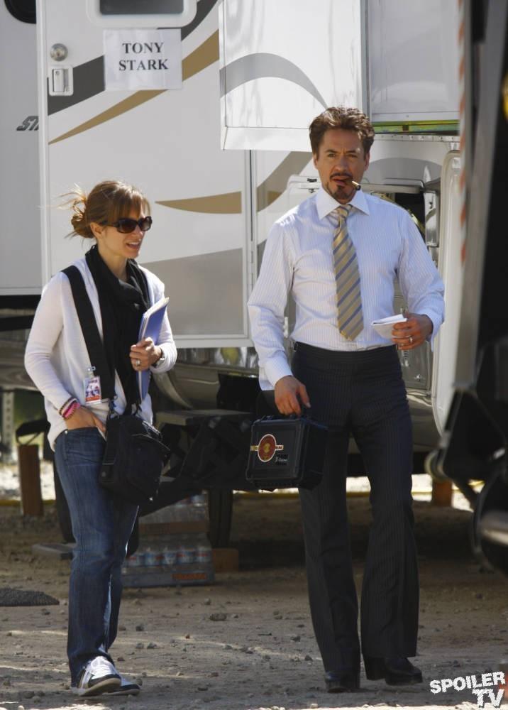 Iron Man 2- On the Set
