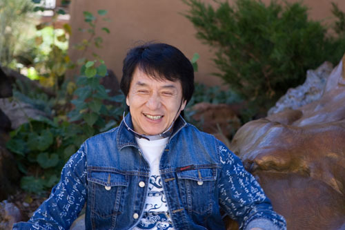 Jackie Chan wallpaper titled Jackie Chan in New Mexico - Day One