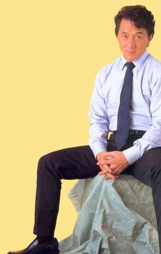 Jackie Chan wallpaper with a business suit entitled Jackie Chan