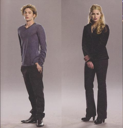 Jasper and Rosalie Hale