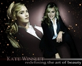 kate-winslet - KW Redefining the art of beauty wallpaper