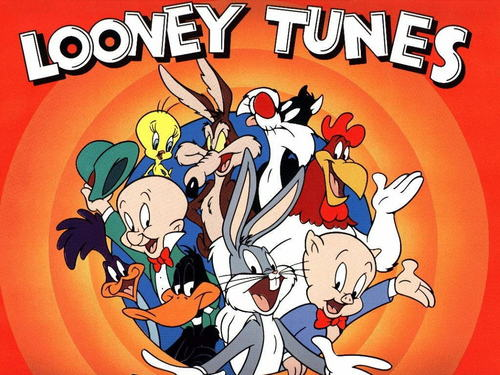 Looney Tunes achtergrond containing anime called Looney Tunes titel