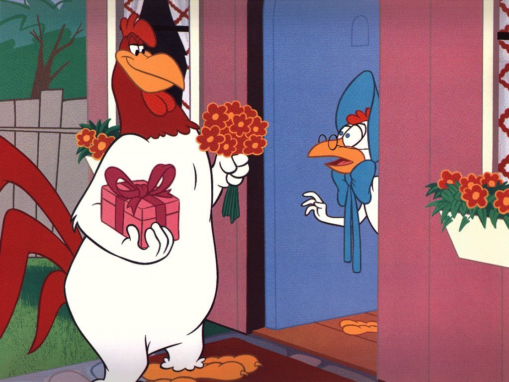 Looney Tunes achtergrond