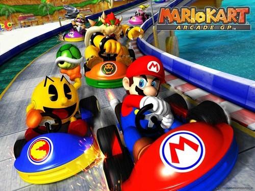 Mario Kart پیپر وال