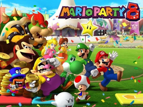 Super Mario Bros. wallpaper titled Mario Party Wallpaper