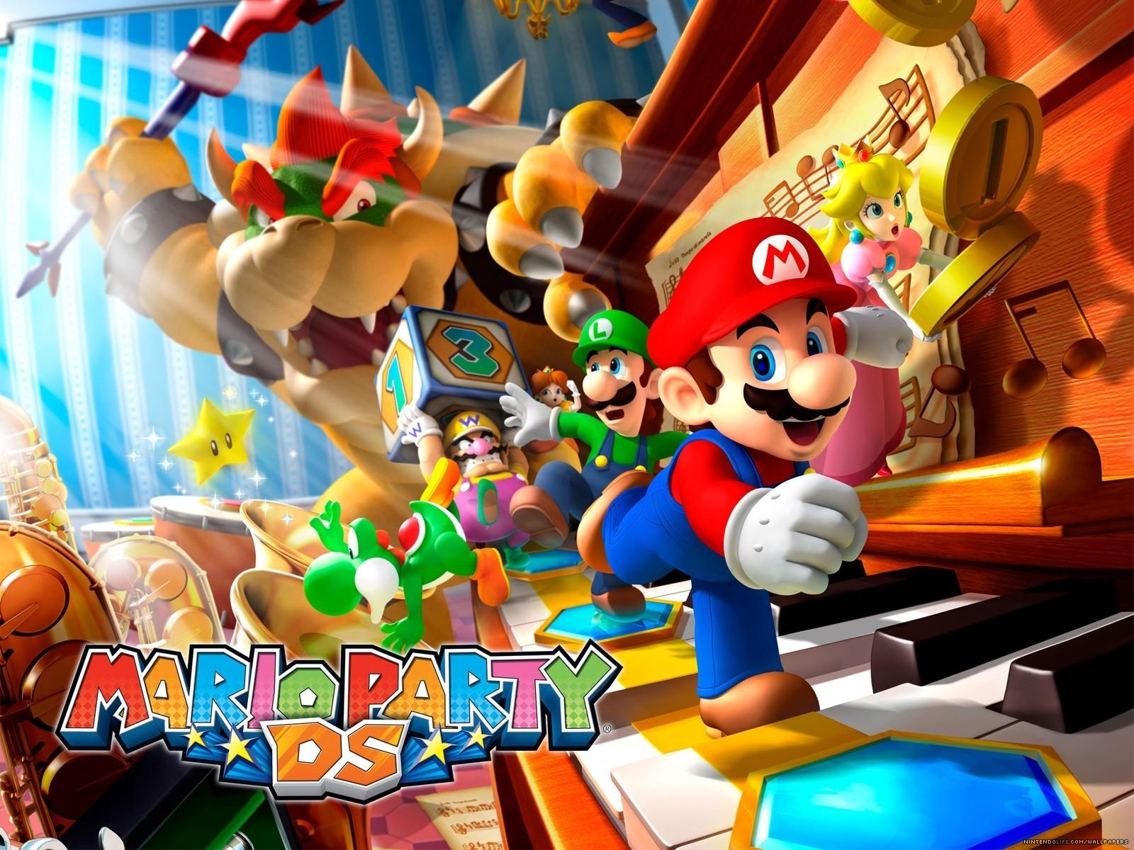 Super Mario Bros Images Mario Party Wallpaper Hd Wallpaper And