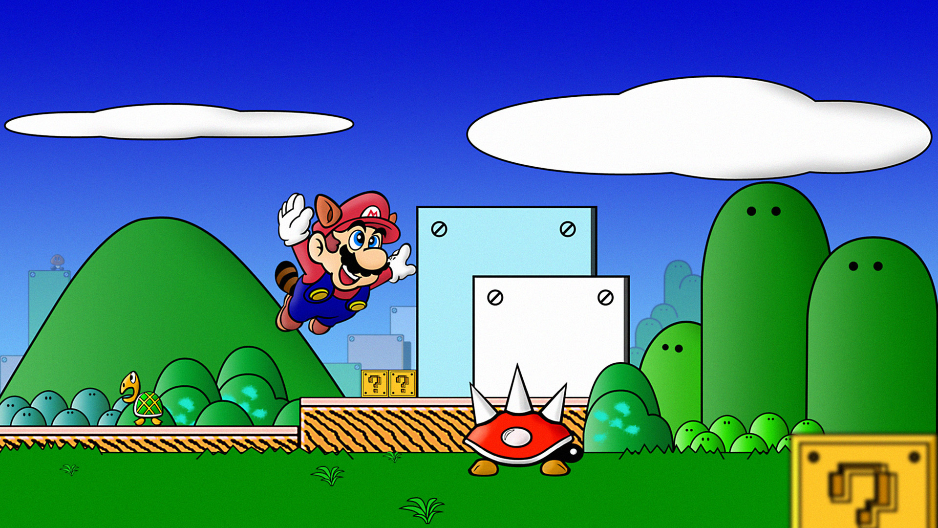 Mario Showcase wallpaper